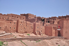 Kazba Taourirt Warzazat Maroko