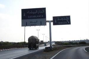 Odległości w Maroku