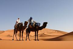 Pustynia Sahara Maroko