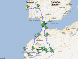 Wyprawa samochodem z Europy do Maroko