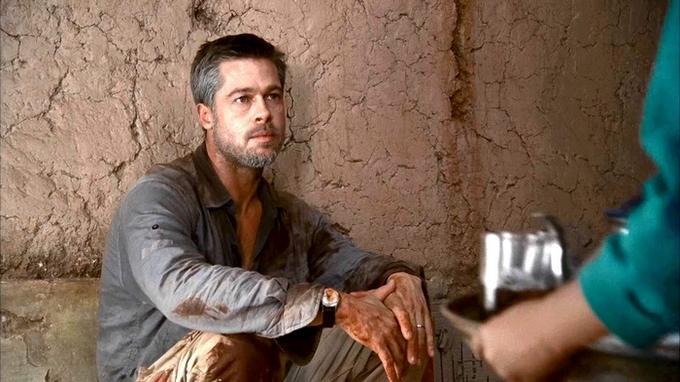 Brad Pitt w Maroku