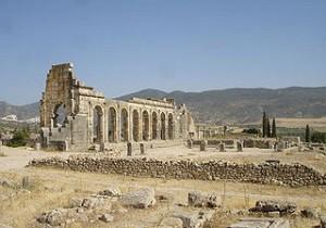 Ruiny Volubilis Maroko