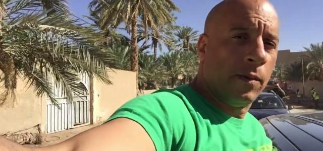 """Vin Diesel, Amerykański aktor znany przede wszytkim z serii filmów """"Szybcy i wściekli"""", gości w Maroku, gdzie rozpoczęły się zdjęcia do jego najnowszego filmu. Na swoim profilu na Facebooku Vin […]"""