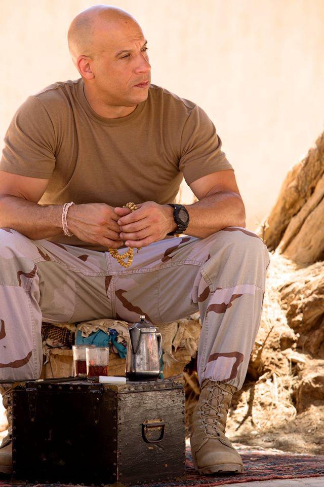 Vin Diesel na planie swojego nowego filmu kręconego w Maroku