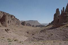Kanion Bab n'Ali w Górach Saghro