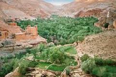 Panorama Dolina Dades, Maroko