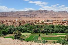 Dolina Tinghir w Maroku