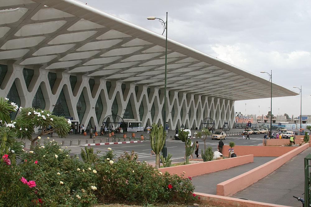 Lotnisko Menara w Marrakeszu