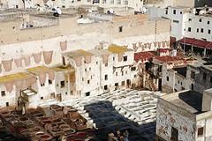 Stara medina w Fez, Maroko