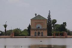 Ogród Menara w Marrakeszu